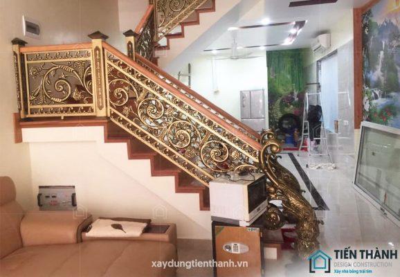 cau thang giua nha ong dep 578x400 - #Mẫu thiết kế cầu thang giữa nhà đẹp được [thịnh hành] năm 2020