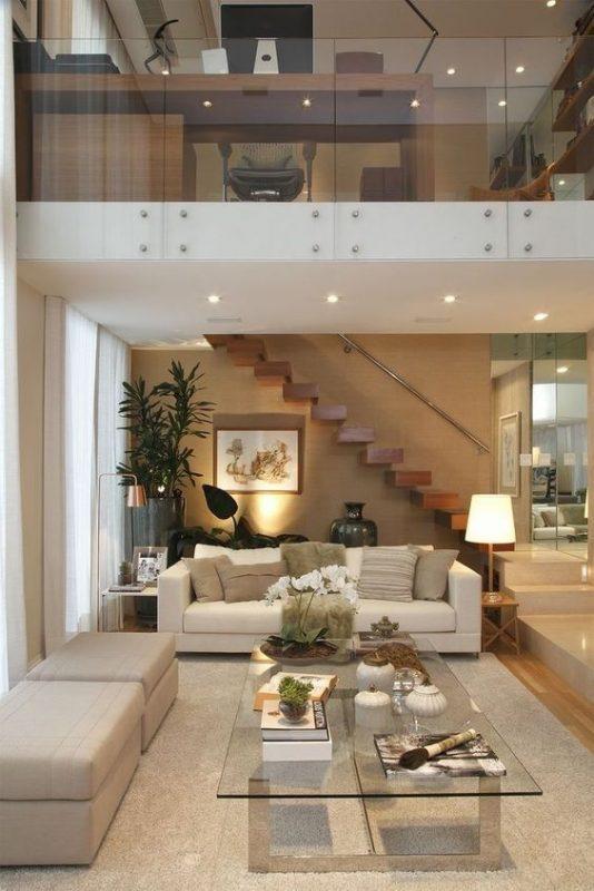 cau thang giua nha tieu canh 2 534x800 - #Mẫu thiết kế cầu thang giữa nhà đẹp được [thịnh hành] năm 2020