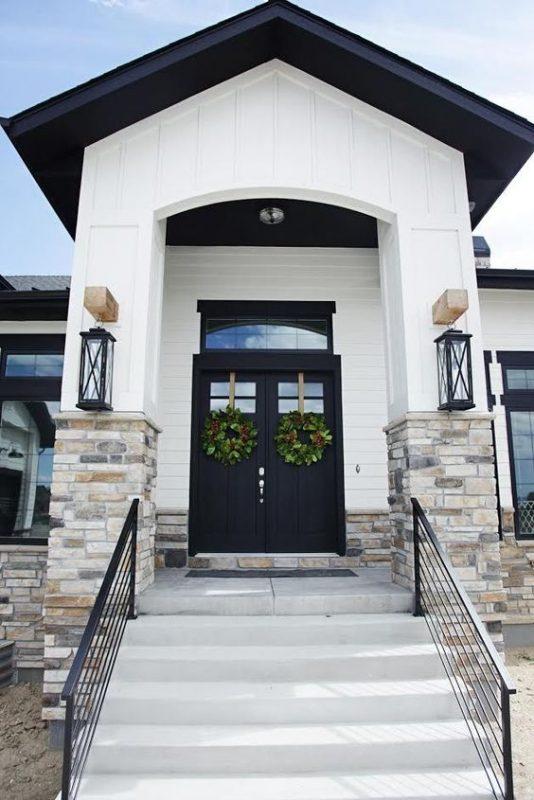 da che tu nhien op tuong mat tien 7 534x800 - Trang trí đá chẻ tự nhiên ốp tường đẹp cho không gian nhà ở