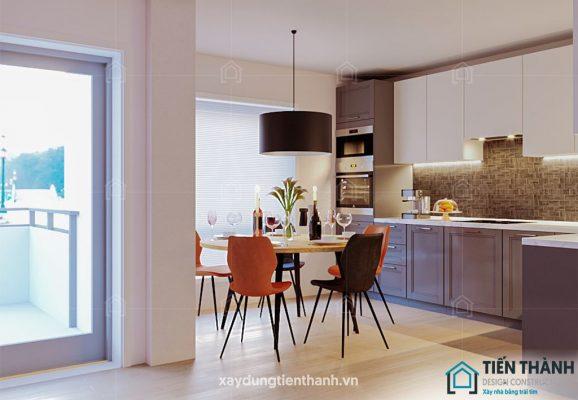 gach op bep dep 578x400 - Các mẫu gạch ốp bếp đẹp cho tường