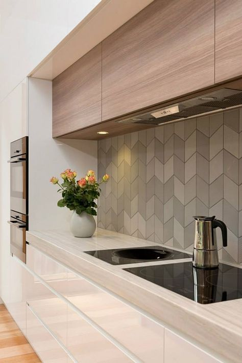 gach op bep dep hien dai 1 - Các mẫu gạch ốp bếp đẹp cho tường BẾP với từng phong cách