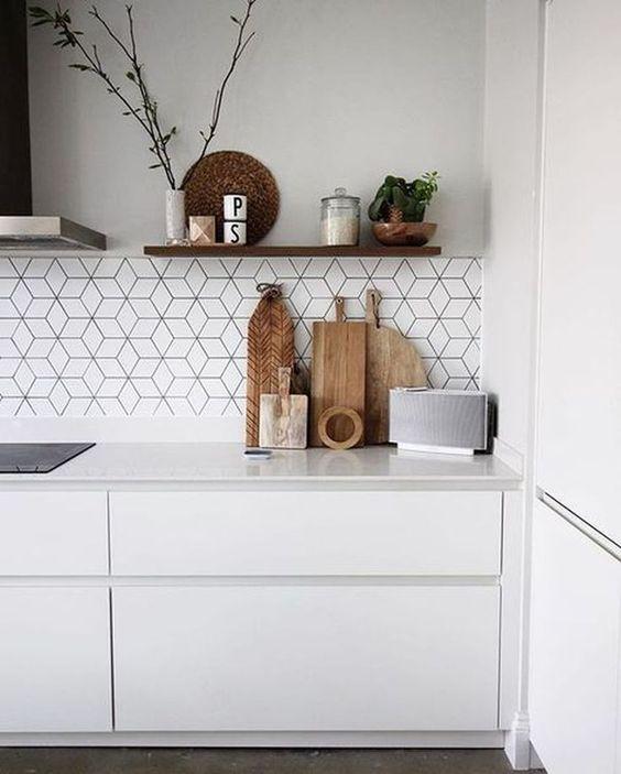 gach op bep dep hien dai 4 - Các mẫu gạch ốp bếp đẹp cho tường BẾP với từng phong cách
