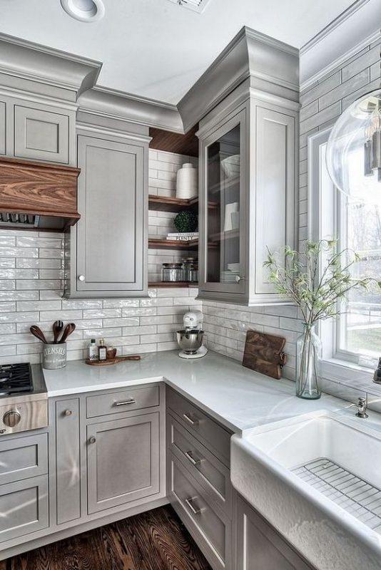 gach op bep dep tan co dien 2 534x800 - Các mẫu gạch ốp bếp đẹp cho tường BẾP với từng phong cách