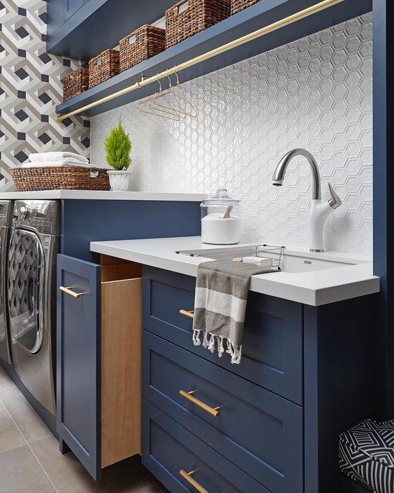 gach op bep dep tan co dien 8 - Các mẫu gạch ốp bếp đẹp cho tường BẾP với từng phong cách