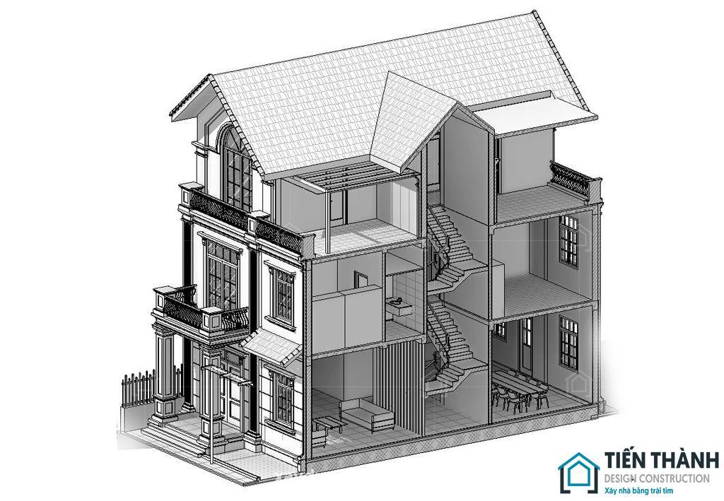 ket cau mong bang nha 3 tang 9 - Kết cấu móng băng nhà 3 tầng vững chắc khi sử dụng lâu dài