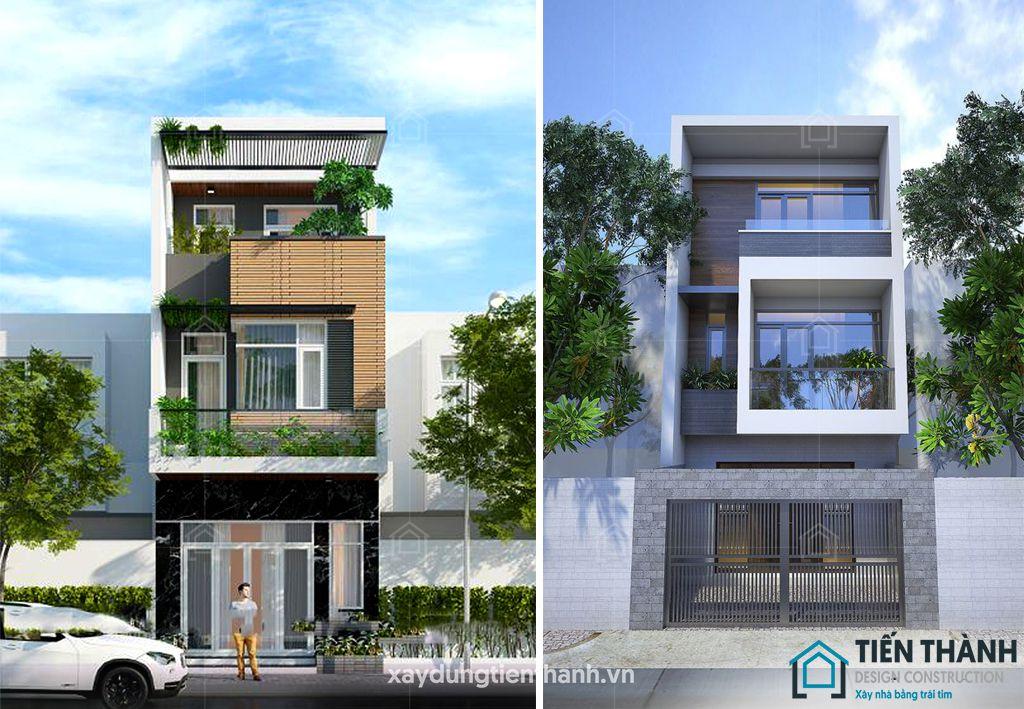 mau nha dep 3 tang 4x16m 2 - #25 Mẫu nhà đẹp 3 tầng năm 2020 thiết kế thi công tại TPHCM