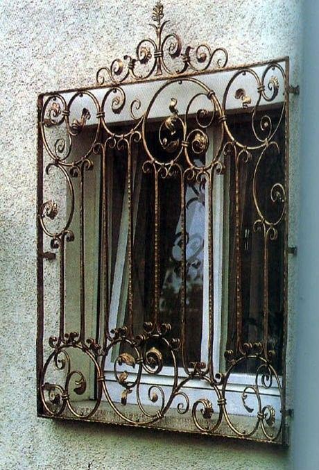 mau song sat cua so co dien tan co dien 5 - Mẫu song sắt cửa sổ đơn giản đẹp nhất được [quan tâm] hiện nay