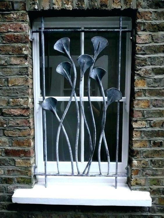 mau song sat cua so hoa sat don gian 7 - Mẫu song sắt cửa sổ đơn giản đẹp nhất được [quan tâm] hiện nay