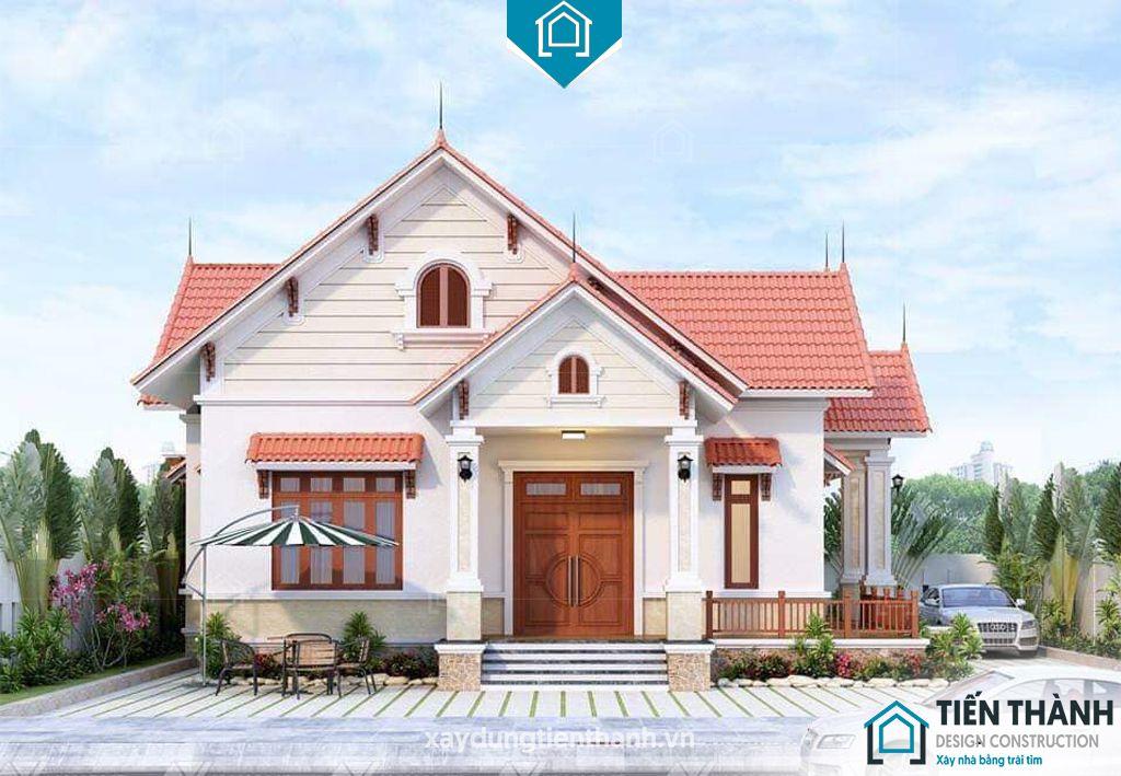 nha mai thai gac lung 3 - Nhà mái thái gác lửng-Lựa chọn thông minh cho gia đình Việt