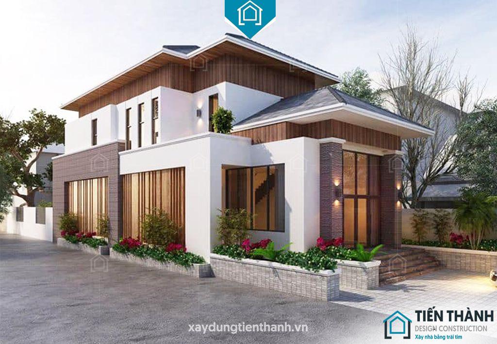 nha mai thai gac lung 4 - Nhà mái thái gác lửng-Lựa chọn thông minh cho gia đình Việt