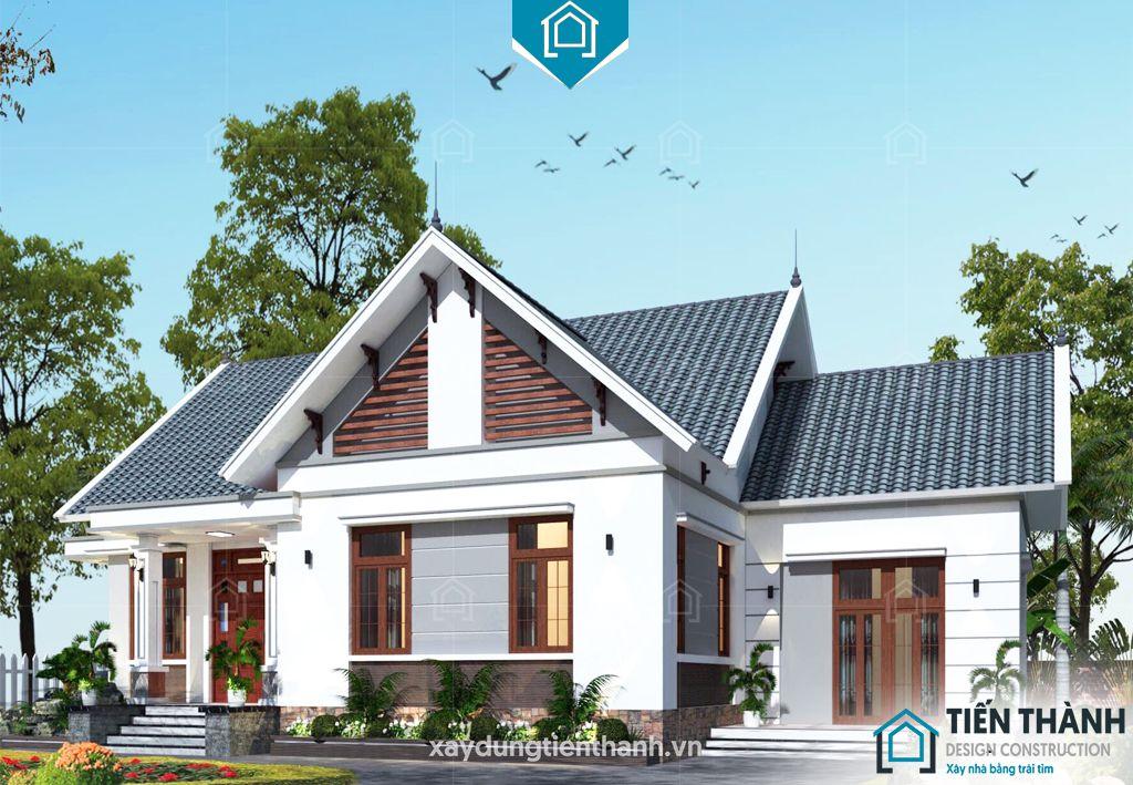 nha mai thai gac lung 6 - Nhà mái thái gác lửng-Lựa chọn thông minh cho gia đình Việt