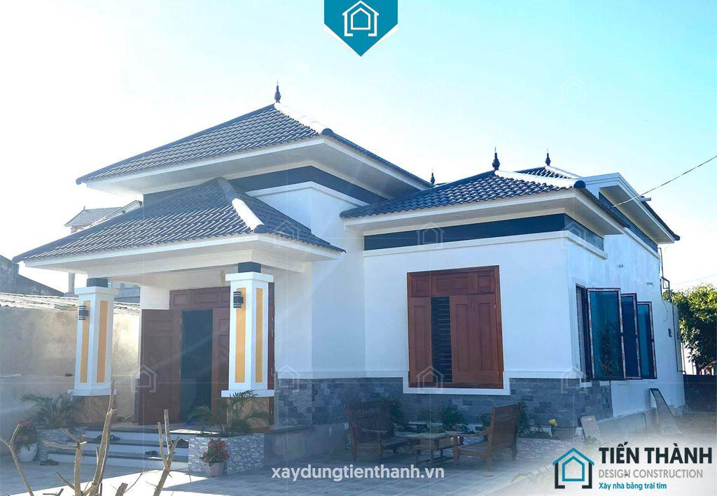 nha mai thai gac lung 7 - Nhà mái thái gác lửng-Lựa chọn thông minh cho gia đình Việt