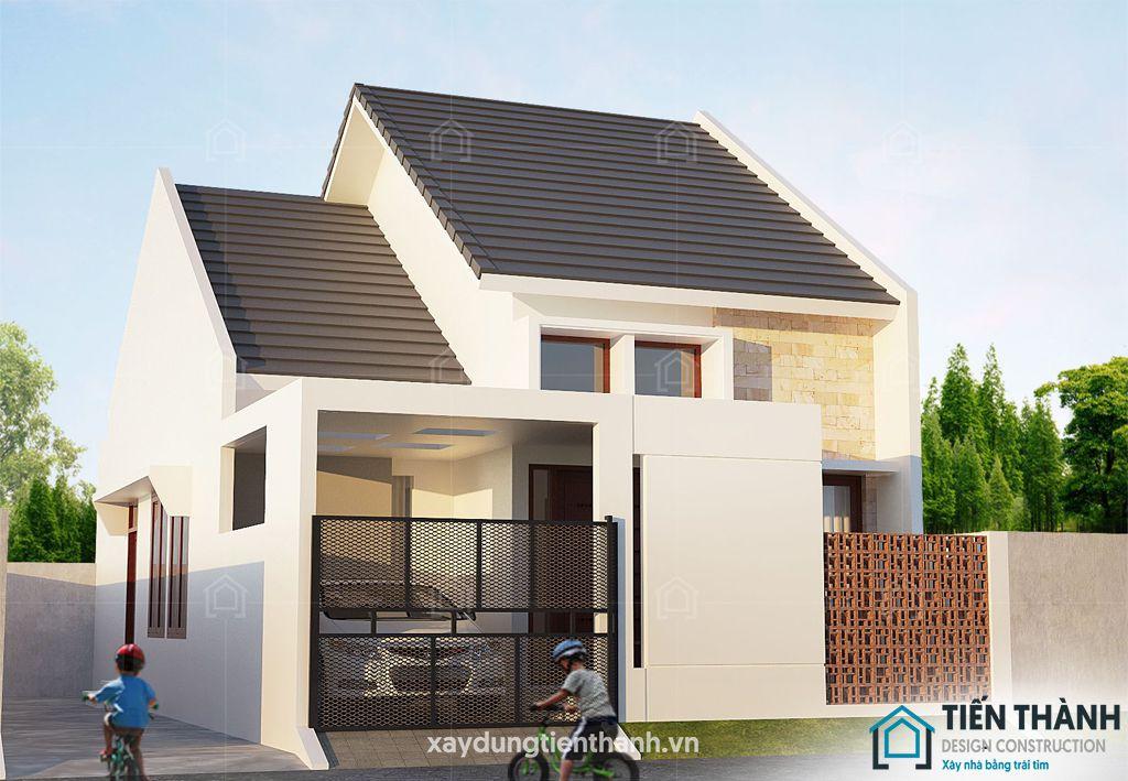 nhung ngoi nha cap 4 dep 1 - Những ngôi nhà cấp 4 đẹp nhất hiện đại ở Việt Nam năm 2020