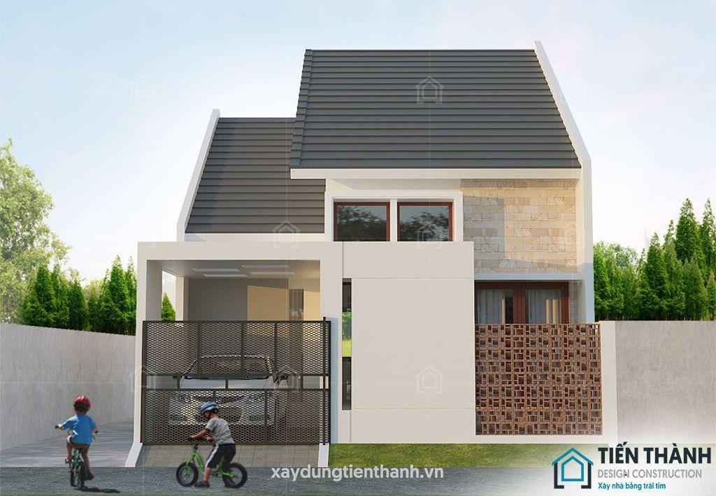 nhung ngoi nha cap 4 dep 3 - Những ngôi nhà cấp 4 đẹp nhất hiện đại ở Việt Nam năm 2020
