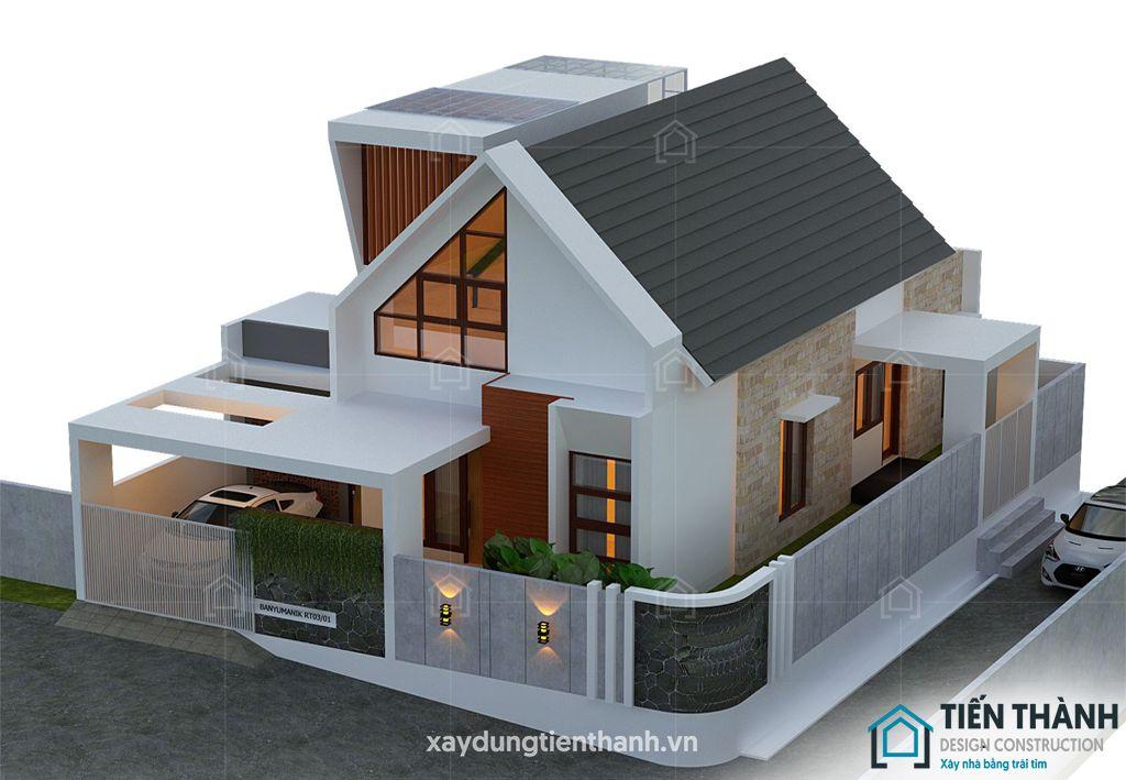 nhung ngoi nha cap 4 dep 7 - Những ngôi nhà cấp 4 đẹp nhất hiện đại ở Việt Nam năm 2020