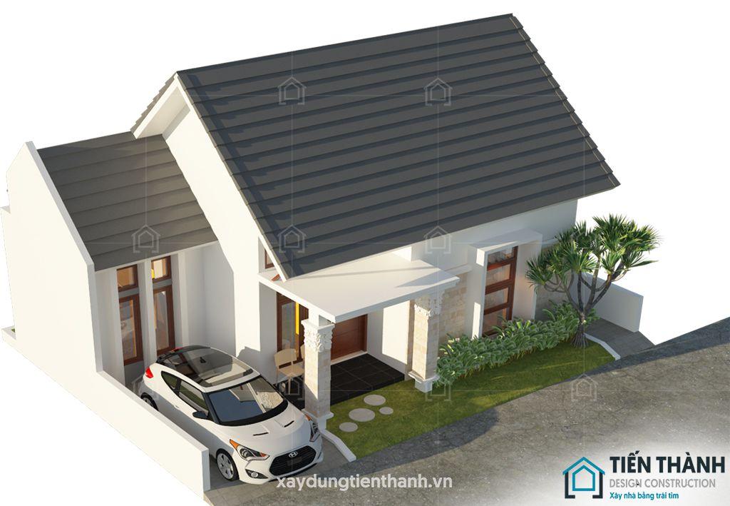 nhung ngoi nha cap 4 dep 9 - Những ngôi nhà cấp 4 đẹp nhất hiện đại ở Việt Nam năm 2020