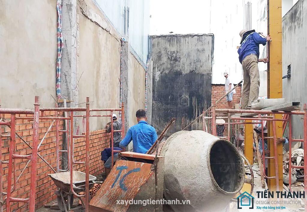 quy trinh lam mong nha xay hoan thien 3 - Quy trình làm móng nhà tới xây nhà hoàn thiện cho [nhà phố]