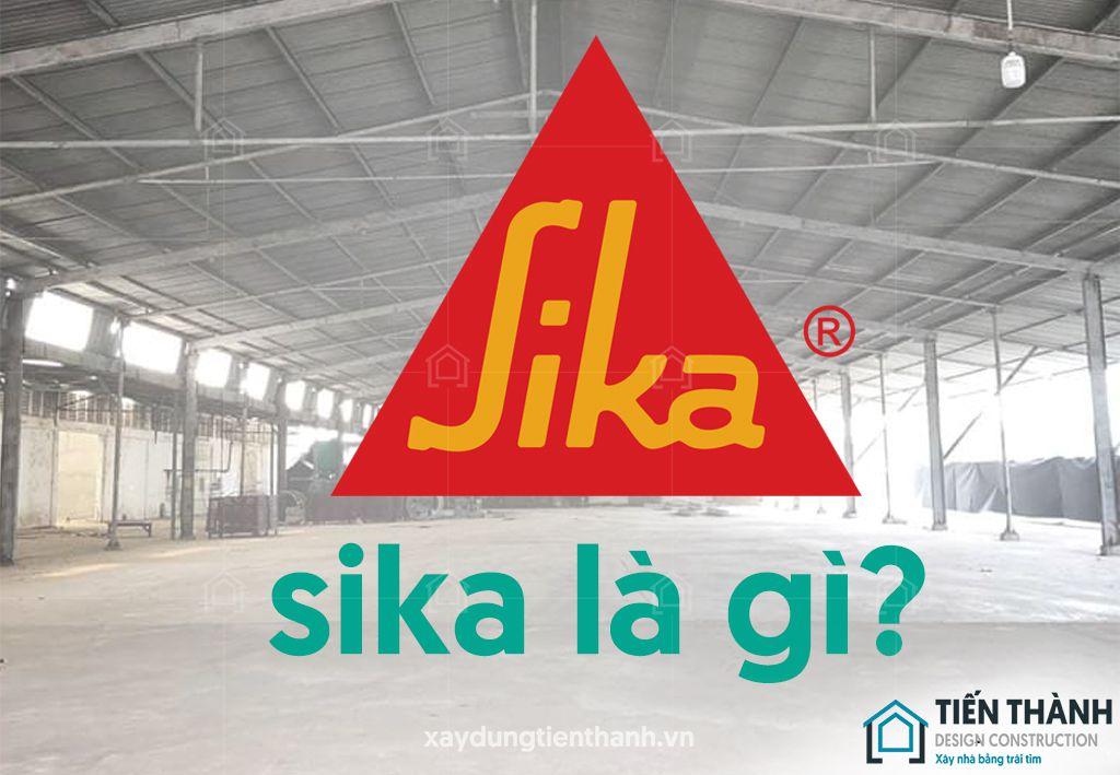 sika la gi chong tham san mai - Phương pháp Sika chống thấm sàn mái đạt hiệu quả hiện nay