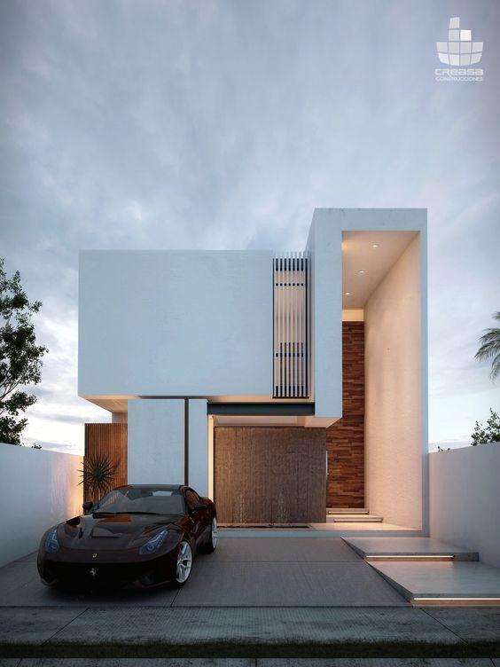 thiet ke nha mat tien 8m sau 5m 2 tang 5 - Thiết kế nhà mặt tiền 8m sâu 5m hiện đại, tiện nghi