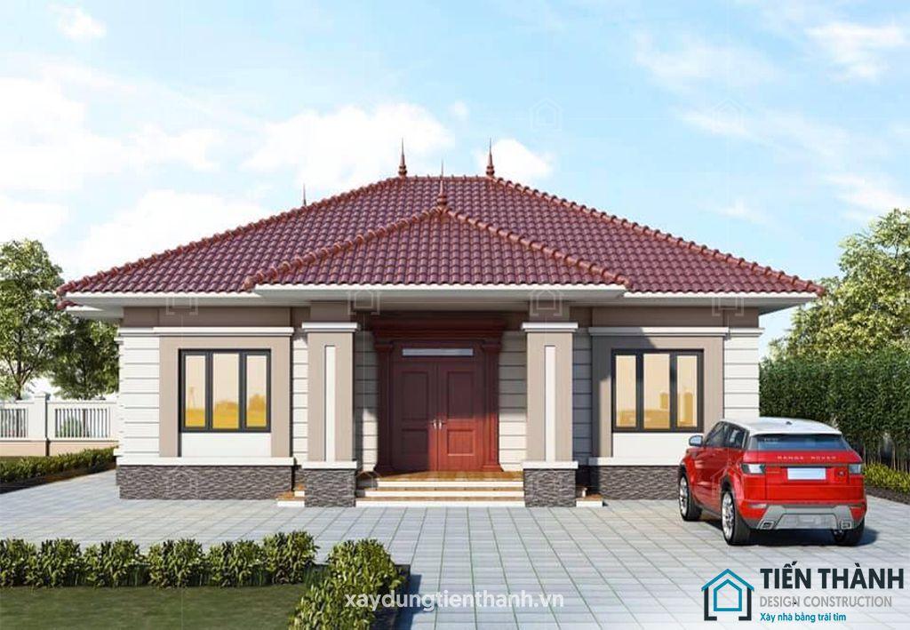 thiet ke nha o nong thon cap 4 1 - #Tuyển tập mẫu thiết kế nhà ở nông thôn [đẹp nhất] 2020