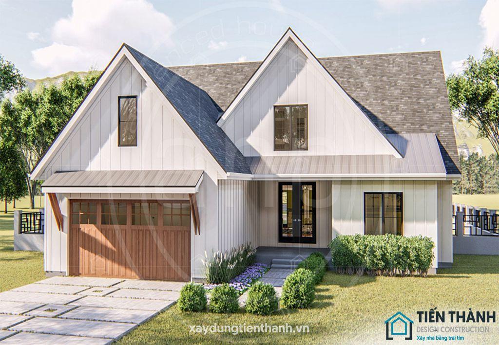 thiet ke nha o nong thon cap 4 2 - #Tuyển tập mẫu thiết kế nhà ở nông thôn [đẹp nhất] 2020