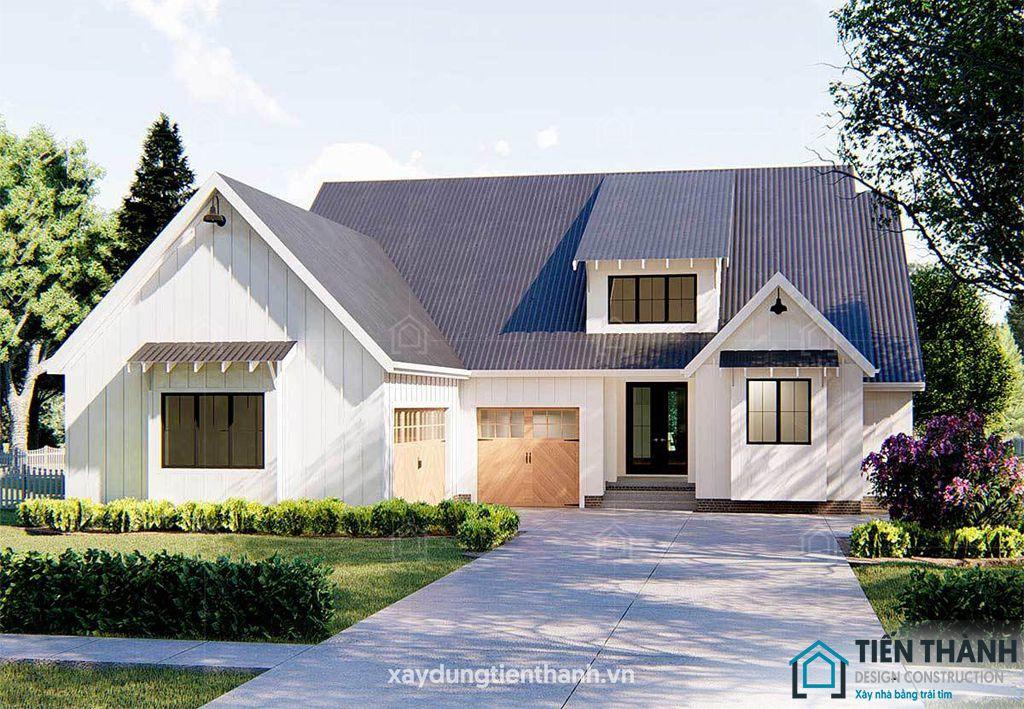 thiet ke nha o nong thon cap 4 5 - #Tuyển tập mẫu thiết kế nhà ở nông thôn [đẹp nhất] 2020