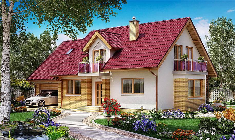 thiet ke nha vuon nong thon 2 - #Tuyển tập mẫu thiết kế nhà ở nông thôn [đẹp nhất] 2020