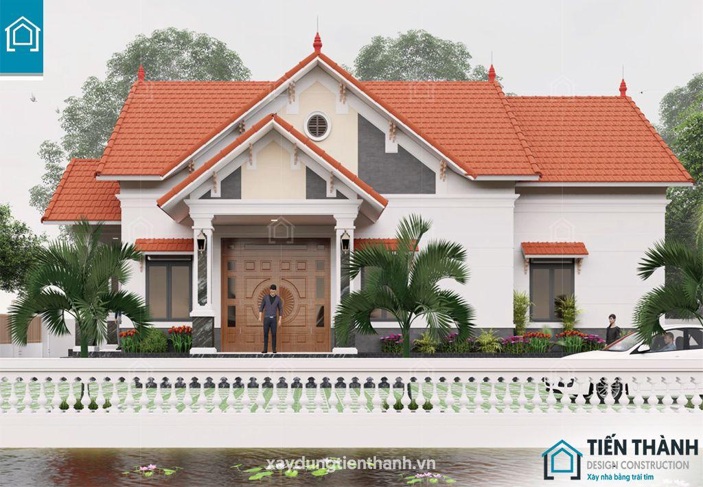 mau nha cap 4 dep nhat viet nam - Mẫu nhà cấp 4 đẹp nhất Việt Nam không thể bỏ qua