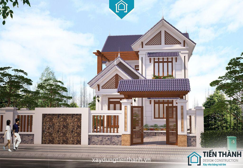 mau pho mai ngoi 2 tang 6 - Nhà phố mái ngói đẹp thịnh hành đẹp [NHẤT] năm 2020