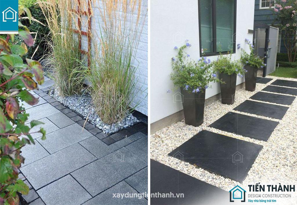 da bazan lat san vuon 7 - Đá bazan lát sân vườn tạo nên thiết kế khu vườn đẹp như mơ