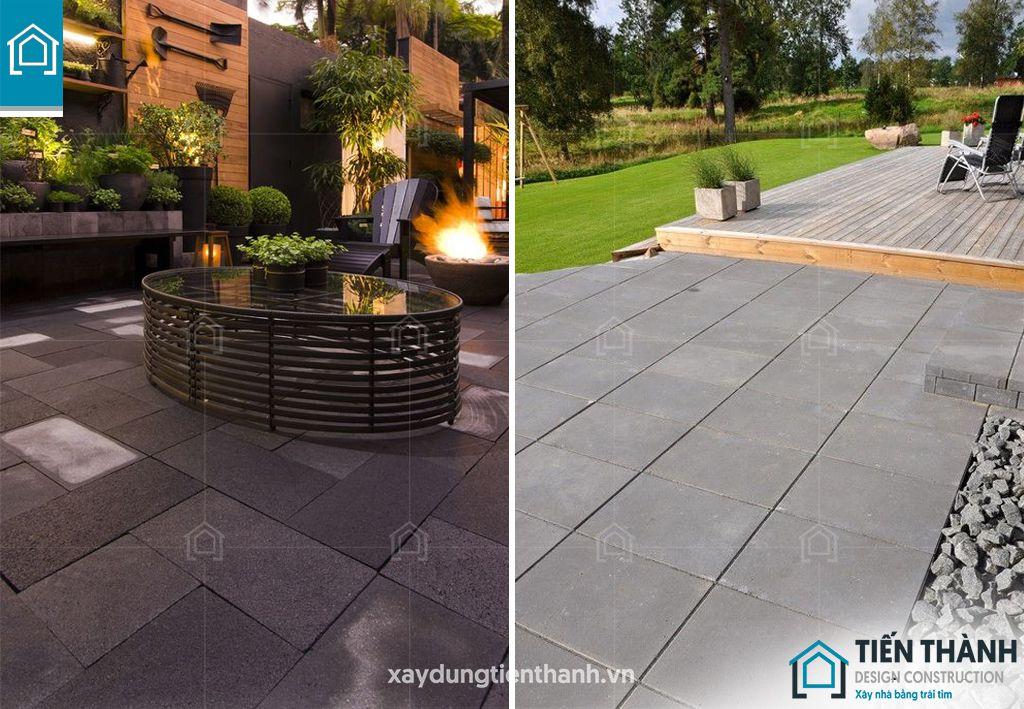 da bazan lat san vuon 8 - Đá bazan lát sân vườn tạo nên thiết kế khu vườn đẹp như mơ