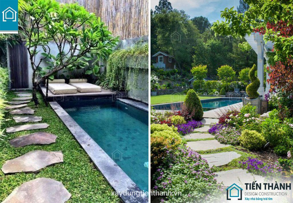da lat san vuon 4 - Đá lát sân vườn với mẹo thiết kế vườn đẹp vạn người mê