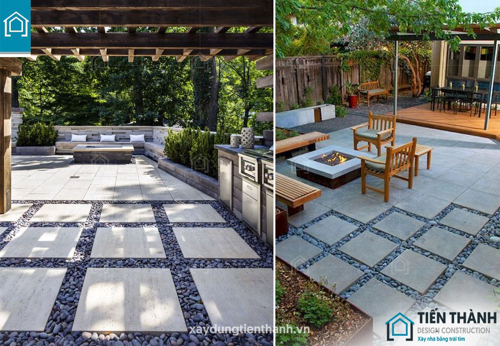 da lat san vuon 5 - Đá lát sân vườn với mẹo thiết kế vườn đẹp vạn người mê