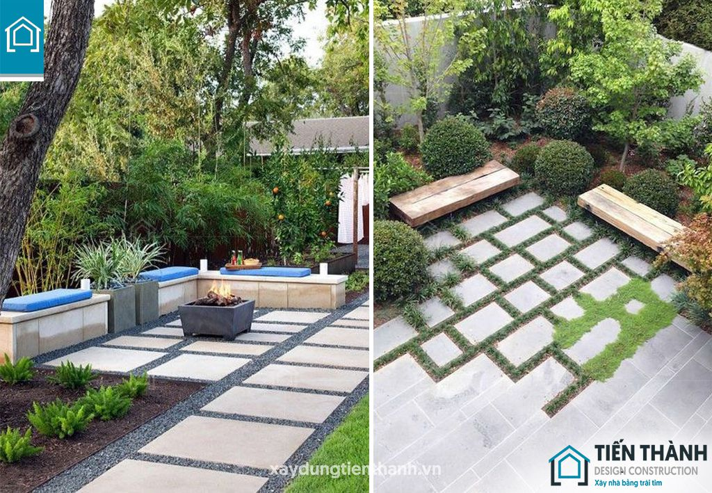 da lat san vuon 6 - Đá lát sân vườn với mẹo thiết kế vườn đẹp vạn người mê
