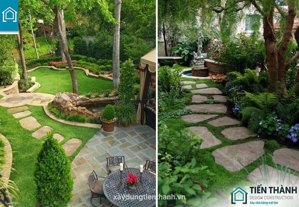 da lat san vuon 8 - Đá lát sân vườn với mẹo thiết kế vườn đẹp vạn người mê