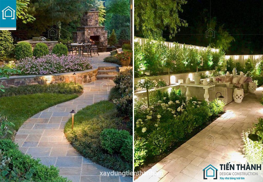 da lat san vuon 9 - Đá lát sân vườn với mẹo thiết kế vườn đẹp vạn người mê