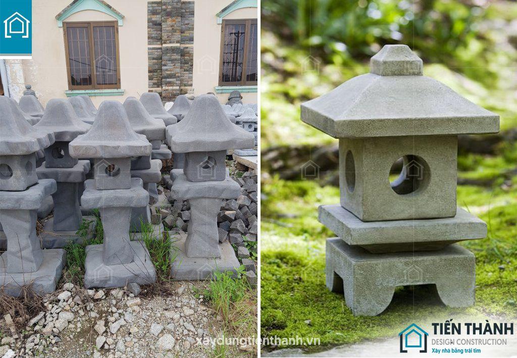 den da trang tri san vuon 5 - Đèn đá trang trí sân vườn đẹp độc đáo ấn tượng năm 2020