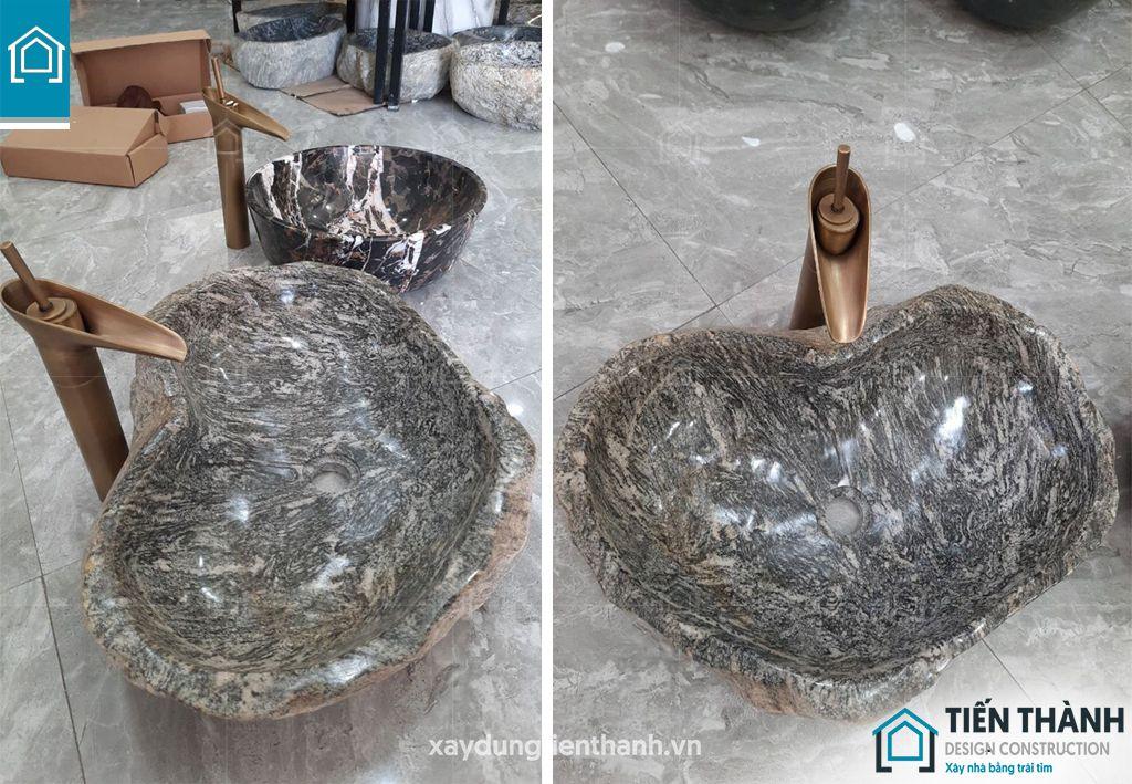 lavabo da tu nhien 5 - Tại sao nên sử dụng lavabo đá tự nhiên cho ngôi nhà bạn
