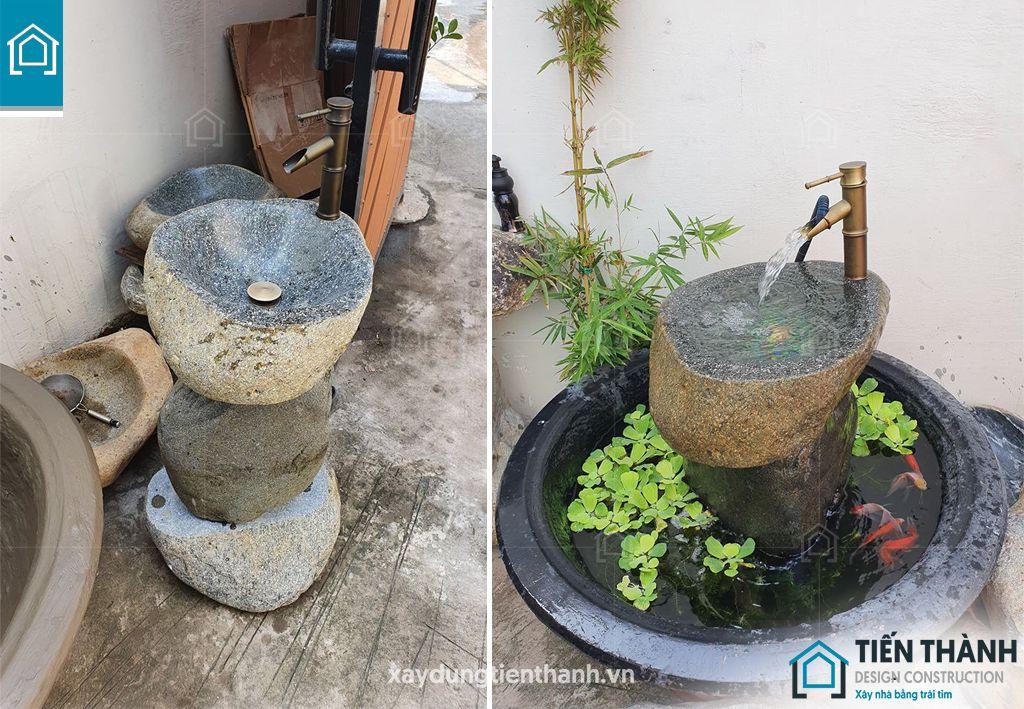 lavabo da tu nhien 8 - Tại sao nên sử dụng lavabo đá tự nhiên cho ngôi nhà bạn
