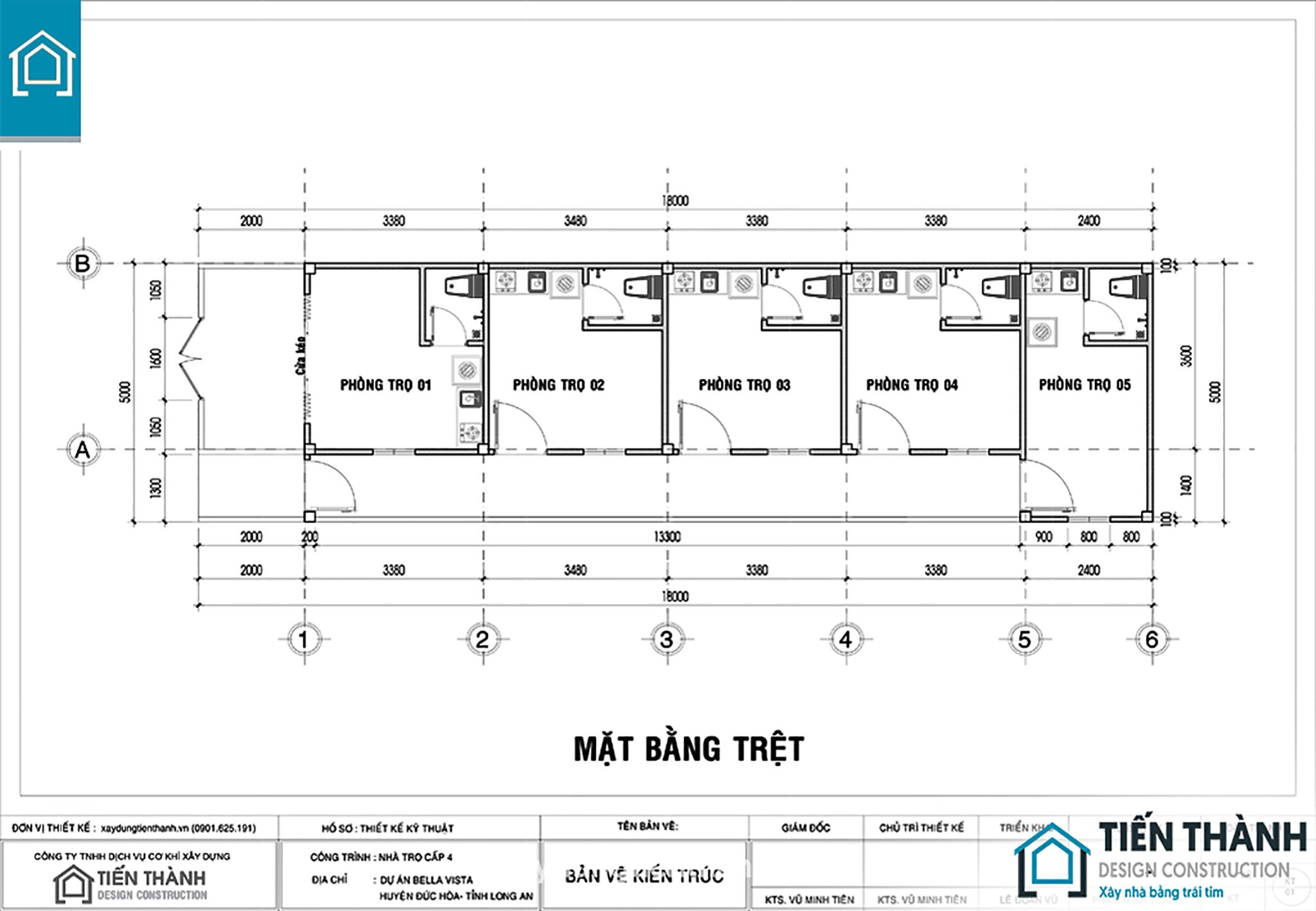 du toan xay dung nha tro cap 4 1 - Dự toán xây dựng nhà trọ trọn gói #mẫu thiết kế chuẩn đẹp