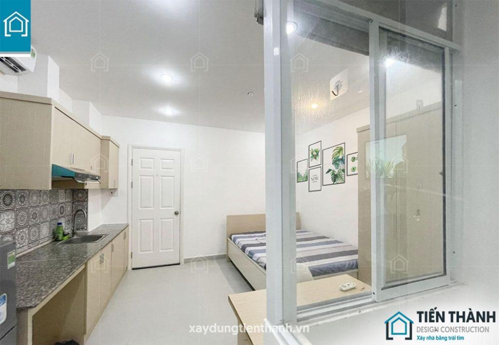 ban ve thiet ke phong tro 15m2 khong gac 2 1000x692 - Bản vẽ thiết kế phòng trọ với diện tích 15m2 tiết kiệm chi phí