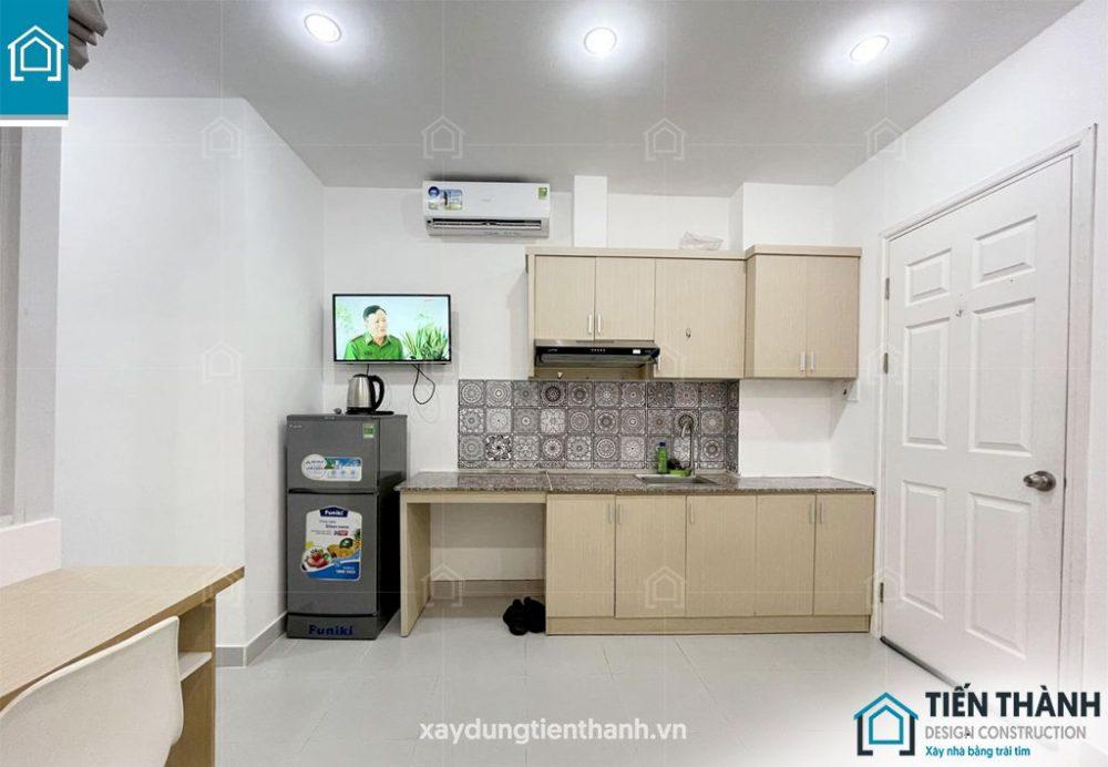 ban ve thiet ke phong tro 15m2 khong gac 4 1000x692 - Bản vẽ thiết kế phòng trọ với diện tích 15m2 tiết kiệm chi phí