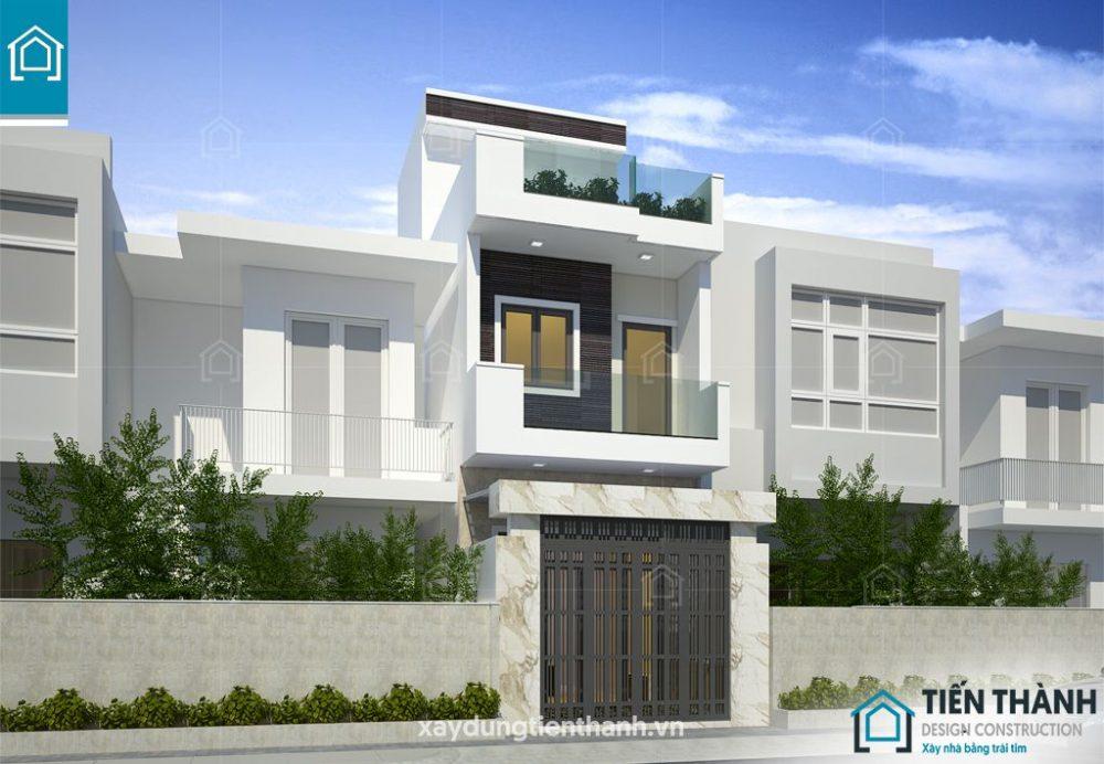 gia ban ve thiet ke nha o 2 tang 1 tum 1 1000x692 - Đơn giá bản vẽ thiết kế nhà ở tham khảo [năm 2021]