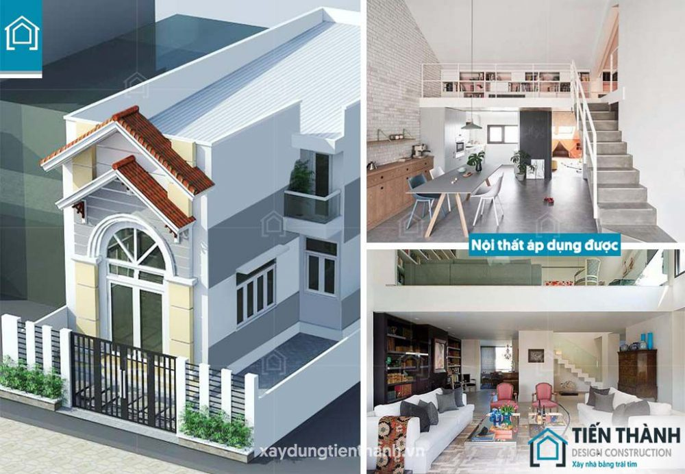 gia ban ve thiet ke nha o cap 4 gac lung 2 1000x692 - Đơn giá bản vẽ thiết kế nhà ở tham khảo [năm 2021]